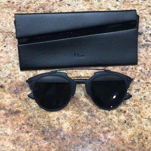 Dior SoReal Sunglasses in Matte Black